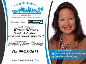 Karen Mertes Buisness Show Sep 8, 2015